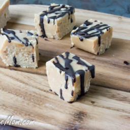 3 Ingredient Sugar-Free Peanut Butter Fudge