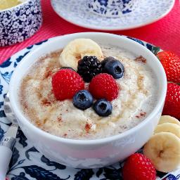 3-Minute Coconut-Almond Porridge {grain free}