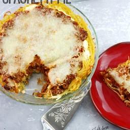 3 Step Spaghetti Pie