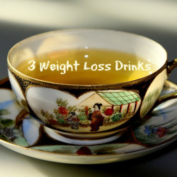 3 Weight Loss Drink Recipes