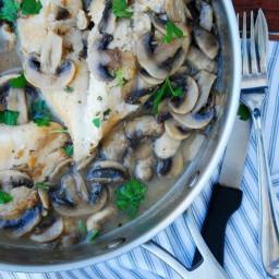 30 Minute Chicken and Mushroom Marsala (GF, DF, Egg, Soy, Fish, Shellfish,