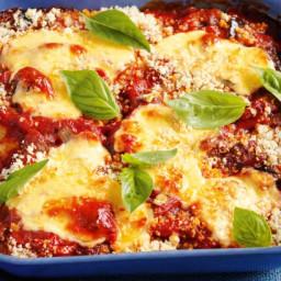30-minute chicken parmigiana bake