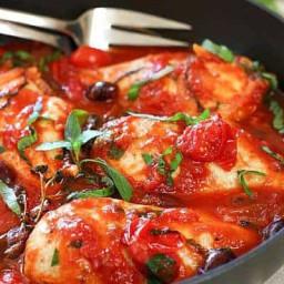 30 Minute Chicken Puttanesca