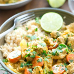 30-Minute Chicken Veggie Curry