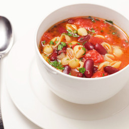 30-Minute Pasta and Kidney Bean Soup (Pasta e Fagioli)