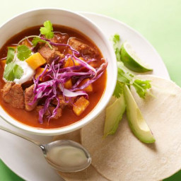 30-Minute Spicy Pork and Sweet Potato Stew