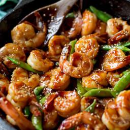 30 Minute Teriyaki Shrimp
