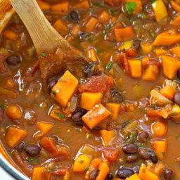 30-Minute Vegetarian Chili
