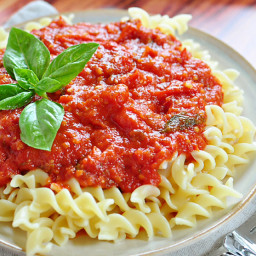 30 Minute Fresh Tomato Marinara