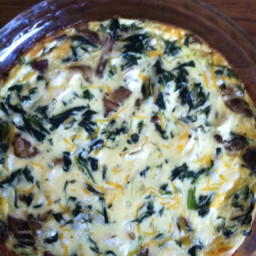 4 Cheese Spinach Quiche