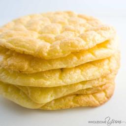4-Ingredient Cloud Bread Oopsie Rolls (Low Carb, Gluten-free)