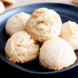4 Ingredient Paleo Coconut Macaroons Recipe (Vegan, Paleo, Gluten Free, Dai