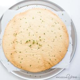 4-Ingredient Pizza Crust (Paleo, Low Carb)