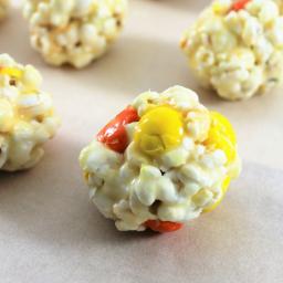 4 Ingredient Popcorn Balls
