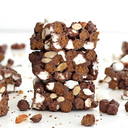 4-Ingredient Rocky Road Crunch Bars