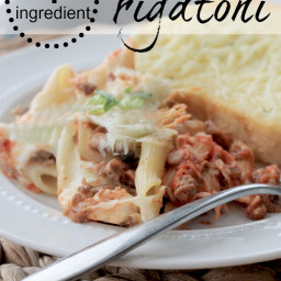 {4 Ingredient} Slow Cooker Rigatoni