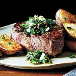 (4-ounce) beef tenderloin steaks, trimmed (about 1 inch thick)