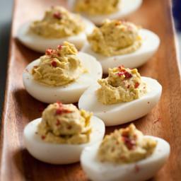 4-Pepper Deviled Eggs