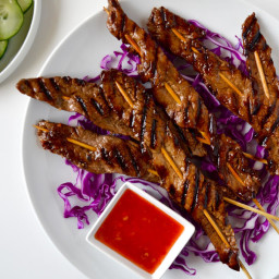 5-Ingredient Beef Satays