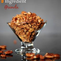 5 Ingredient Cinnamon Granola