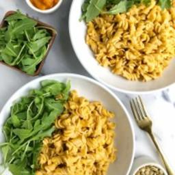 5-ingredient Creamy Squash Pasta (vegan + gluten-free)