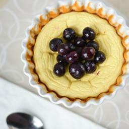 5-Ingredient Custard Cheesecake