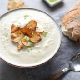 5 ingredient jerusalem artichoke soup