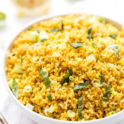 5-ingredient Lemon Turmeric Quinoa