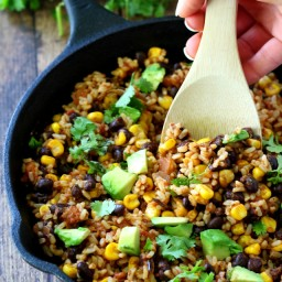 5 Ingredient Mexican Brown Rice