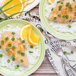 5-Ingredient Orange Marmalade Chicken