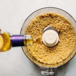 5-Ingredient Vegan Parmesan Cheese