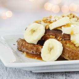 5 Minute Banana Nut French Toast