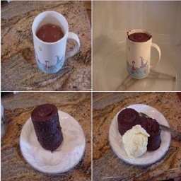 5 Minute Chocolate Coffee Mug Cake