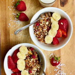 5-Minute Homemade Cereal (raw, gf)