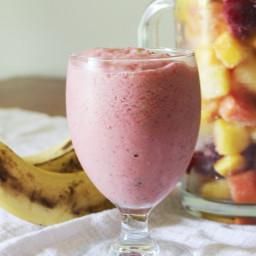 5-Minute Vegan Breakfast Smoothie