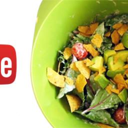 5-Minute Vegan Taco Salad