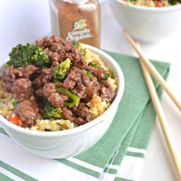 5 Spice Beef & Broccoli