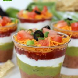 7 Layer Dip Cup Recipe