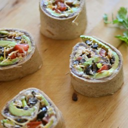 7 Layer Dip Roll-Ups