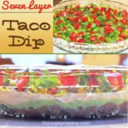 7 Layer Taco Dip Recipe (Healthified!)