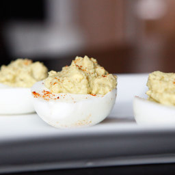 7 Paleo Thanksgiving Recipes (6 of 7) - Deviled Eggs