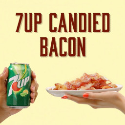 7UP Candied Bacon And Spicy Ketchup