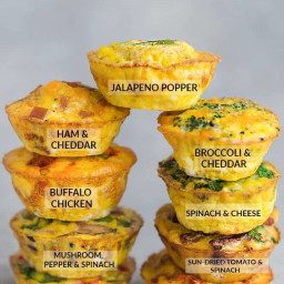 9 Breakfast Egg Muffin Cups