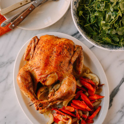 A 2-Part Recipe: Whole Roast Chicken and Stock