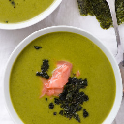 A Light and Fresh Ginger Broccoli Soup