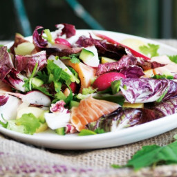 A refreshing and simple fish salad