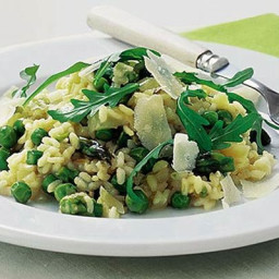 A risotto for early summer
