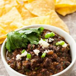 AA Healthy Refried Black Beans