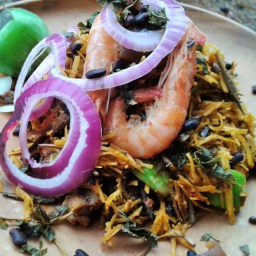 Abacha A hundred ways (African Salad)