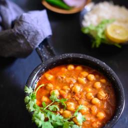 Achari Chole Recipe